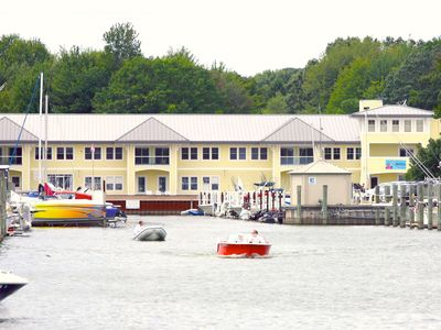 Photo for The Staterooms 2N, Waterside View, Heated Pool, Near Holland State Park Beach