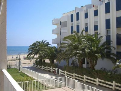 Photo for Alcossebre: Central apartment in 1st line of Playa Cargador (VT-33848-CS)