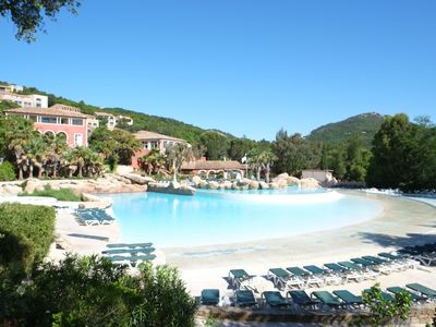Photo for Grimaud-Les Restanques - 3 rooms sea view and St Tropez