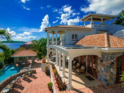 Photo for Las Brisas Caribe - A Luxurious and Private 4BR St. John Villa