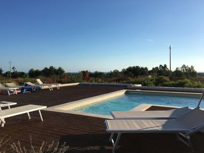 Photo for Vacation home villa pietra pool in Ugento - 6 persons, 4 bedrooms