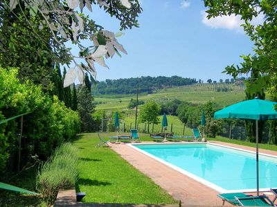 Photo for Apartment Casa alle Vacche  in San Gimignano (SI), Siena and surroundings - 5 persons, 2 bedrooms