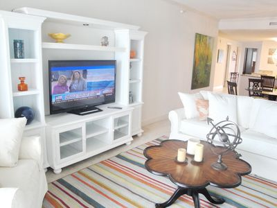 Photo for Gorgeous 2-Bedroom / 2-Bath Condo On The Beach At Sea Breeze