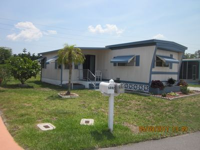 Photo for Pet Friendly 2 Bed/2 Bath Mobile Home In  Retirement Community In North Port, FL