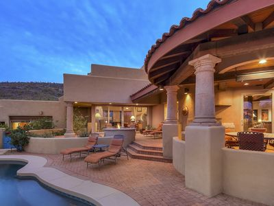 Photo for Desert Mountain Luxury Home - Pool - Spa - Fire Pit - Views