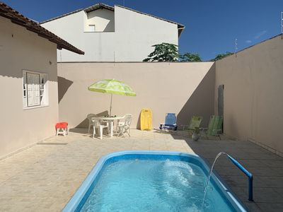 Photo for Excellent House 3 Bedrooms Suite Pool Split Air Wi-Fi 40MB 2 Vacancies Barbecue