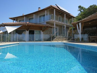 Photo for EXCEPTIONAL HOUSE IN CORSICA WITH SWIMMING POOL HOUSE NEAR PROPRIANO AJACCIO