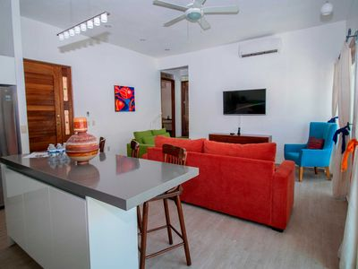 Photo for Casa Oly with balcony and grill  | Just one block from the beach
