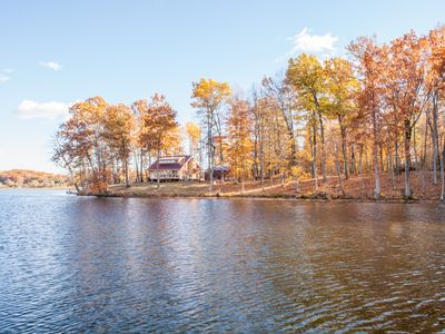 Private Island Cottage with Treehouse - Near Ann Arbor