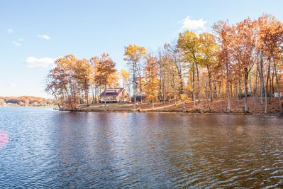 View of Cottage from the water looking South.
