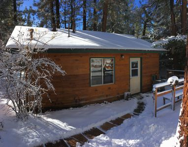 Photo for BEAR ELEMENTS CABIN - Cute, Romantic Getaway, Close to Ski, Lake & Golf