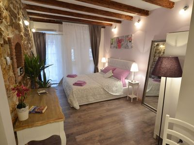 Photo for Cozy aparthotel in the center of Rovinj with Internet, Air conditioning