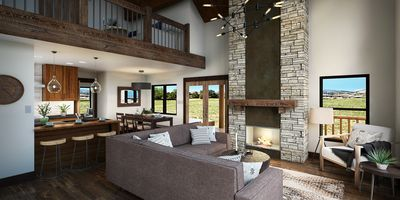 Photo for Luxury Cabin overlooking Lake Estes