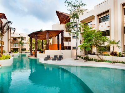 Photo for Private Pool Access 2BR condo in the best location in Tulum by Happy Address