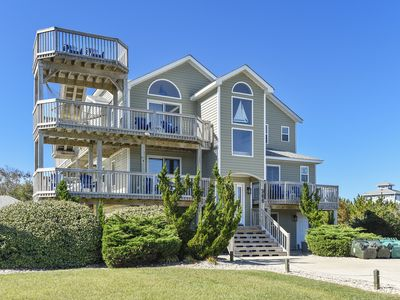 Photo for Crabby Mermaid: 760 feet to Beach, Private Pool, Hot Tub, Sleeps 18