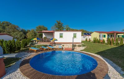 Photo for Holiday house with private pool No.3 in holiday park Jelovci