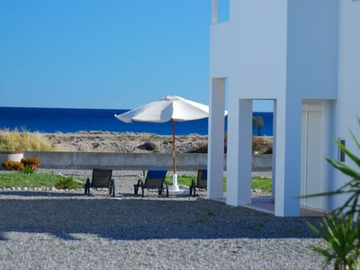 Photo for Villa Mangano,  New modern villa 3 minutes from the Afandou Beach.
