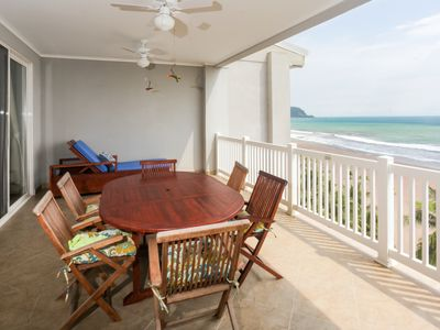 Photo for Gorgeous beachfront condo w/access to shared pool & incredible ocean views!