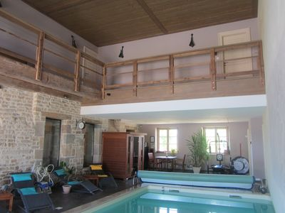 Photo for Le Relais des Deux Towers, Charming Room, Heated Indoor Pool, Sauna