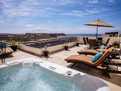 Photo for Luxury Ocean View -End Unit Penthouse at Medano Beach