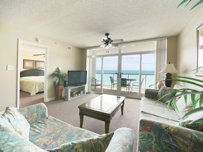 Photo for Spectacular 2 Bedroom Oceanfront Condo, Crescent Keyes 1208!