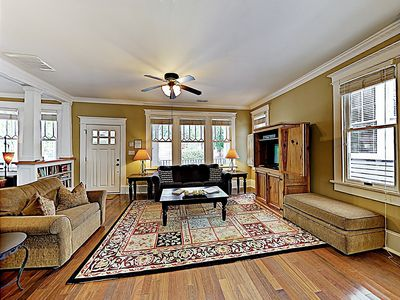 Living Room - Welcome to Wilmington! This home is professionally managed by TurnKey Vacation Rentals.