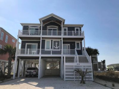 Photo for Ocean View Beach House, Sleeps 10, Perfect for 2 families, Built 2015