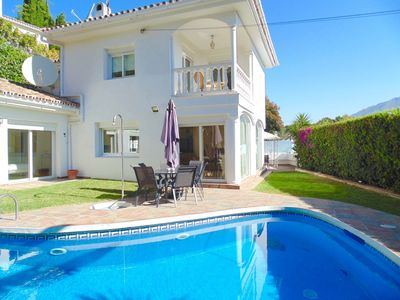 Photo for Location Puerto Banus - Private 4 bed villa walking to Puerto Banus