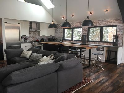 Photo for Industrial Chic Chalet in Telluride with complete privacy.