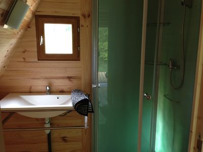 Photo for Chalet Tipi ... Atypical for a quiet and nature holiday