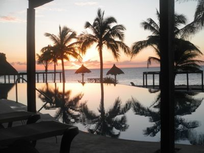 Breathtaking Sunrise in Your Tropical Paradise Retreat Greets You Every Morning