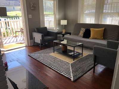 Photo for Cozy Duplex House minutes to Mercedes-Benz Stadium, Downtown, Midtown, Zoo Atl.