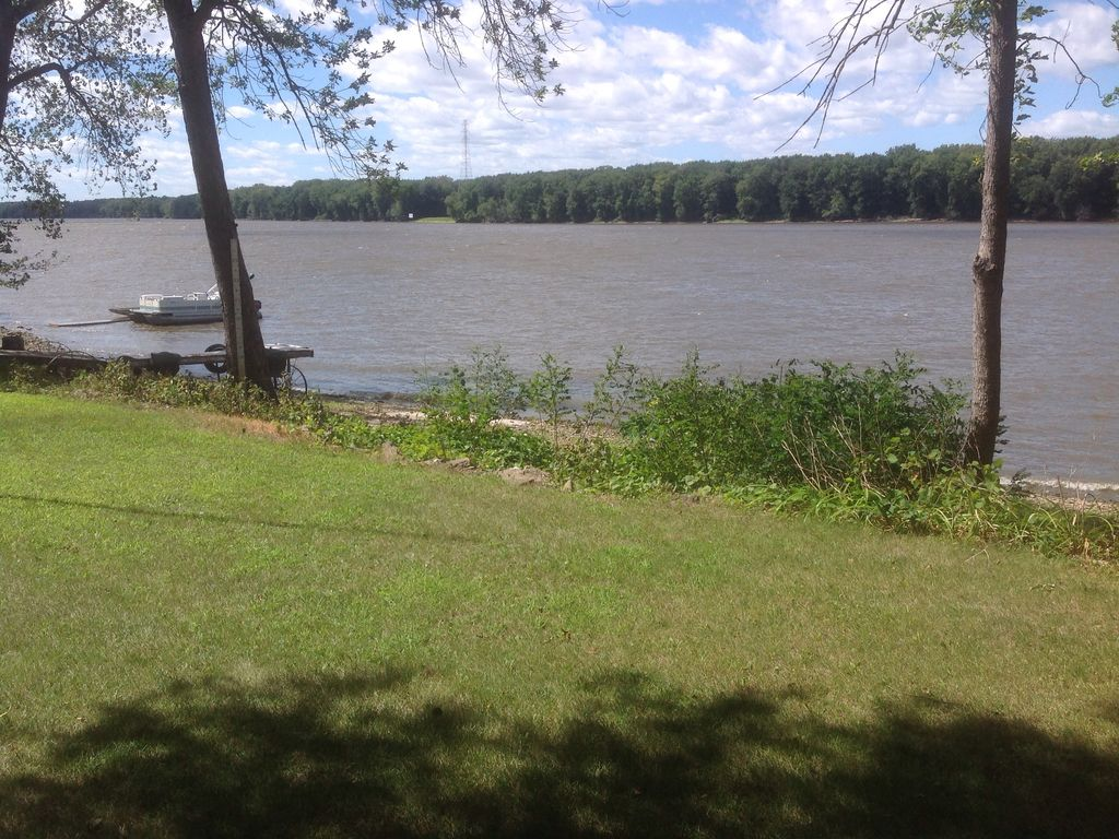 """home on the mississippi Sally lee and her partner, val guelker, moved into their newly customized home in 2016 """"it's unique,"""" says lee """"we love its convenient, yet secluded location, just five minutes from."""