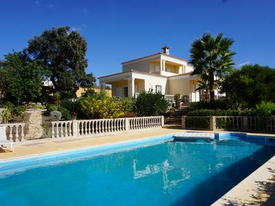 Photo for Luxurious villa 9 p. - property 50 acres in the middle of olive trees - magnificent view