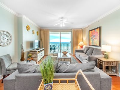 Photo for Corner Unit☀Amazing Views☀Two Masters☀Inspected & Disinfected☀4BR Ocean Ritz 503