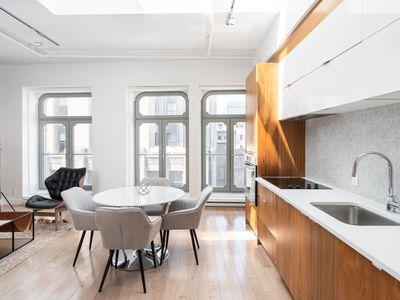 Photo for Breathtaking 1Br loft in the heart of OLD MTL