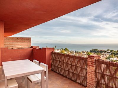 Photo for Penthouse S Reserva del Higuerón, 3 bedrooms with Jacuzzi and Parking