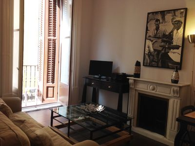 Photo for Gran Via 1 Apartment - Balconies 2 Bedrooms