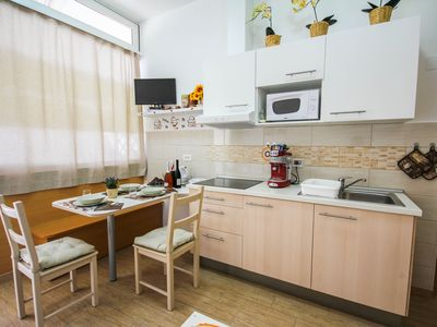 Photo for Cosy new apartment in cappuccino colors, located in the heart of Portorož