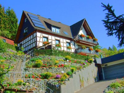 Photo for Beautiful holiday home with terrace and an amazing view of Hallenberg