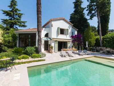 Photo for Cannes and its Croisette: 210 m² villa recently rated 4 stars