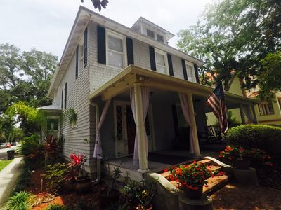 Photo for Central Downtown Historic St. Augustine! Walk everywhere! Just renovated!