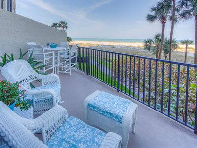 Photo for Right on the BEACH!    Exclusive Lighthouse Towers,  Sand Key,  Clearwater Beach