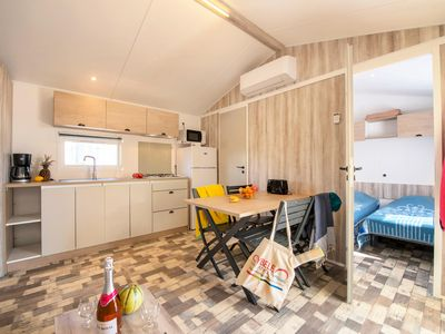 Photo for Camping Le Bel Air ***** - Mobil Home Prestige 4 Rooms 6/8 People