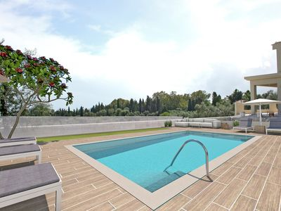 Photo for Villa Hill, superb 2 bedroom villa with private pool and stunning view