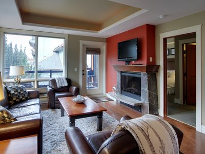 Photo for Luxury Corner Suite Solara! Private setting with views! (Rockies Rentals)