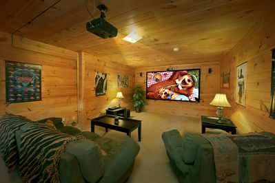 Watch Movies in your own Home Theater! - Great for kids and some late night movie-watchin! Make popcorn & relax!