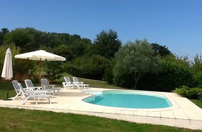 Photo for VILLA BEAUX SEJOURS - 4 BED HOUSE & POOL, LARGE GARDEN & FREE ARRIVAL MEAL