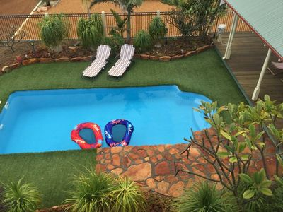 Photo for BEACHVIEW QUALITY HOME WITH STUNNING VIEWS , SWIMMING POOL.   ** Free Wi-Fi **