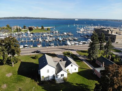 Photo for Gorgeous marina views in this fully remodeled farmhouse!